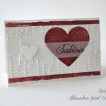 Srčna melodija - imenska kartica