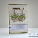 Cvetoče okno - sprednja stran