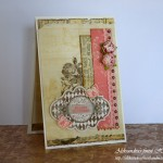 Vintage Roses and Butterflies Birthday - front