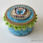 Spomladanski metuljček - darilna škatlica