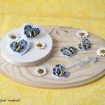 ročno-delo-nakit-komplet-kolekcija-metuljček-marjetice-srček