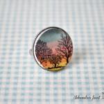 ročno-delo-nakit-prstan-drevesa-sončni-zahod