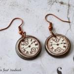 ročno-delo-nakit-uhani-majhni-trenutek-ura