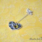 ročno-delo-nakit-verižica-metuljček-marjetice-srček