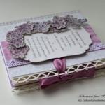 4 Vijolične vrtnice - zavezovanje