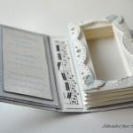 Mini knjiga Metuljčki za rojstni dan - notranjost