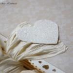 Venček srce - detajl na hrbtni strani
