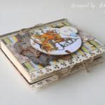 rocno-delo-unikat-voscilnica-knjiga-posebna-cestitka-rojstni-dan-gozdna-lovec-srnici-les-zavezovanje