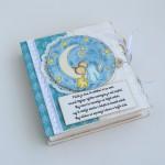 rocno-delo-unikat-voscilnica-knjiga-posebna-cestitka-rojstvo-fantek-misek-na-luni-zvezde-swarovski