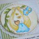rocno-delo-unikat-voscilnica-knjiga-posebna-cestitka-rojstvo-fantek-misek-v-mrezi-cvetlice-swarovski-detajl