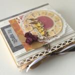 rocno-delo-unikat-voscilnica-posebna-knjiga-darilo-rojstni-dan-vintage-ptice-ura-vrtnice-les-zavezovanje