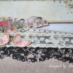 rocno-delo-unikat-album-za-fotografije-ljubezen-poroka-vintage-vrtnice-cipka-ptice-ura-peta-stran-detajl-metuljcka-cipka