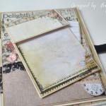 rocno-delo-unikat-album-za-fotografije-ljubezen-poroka-vintage-vrtnice-cipka-ptice-ura-peta-stran-kartoncek-za-fotografje