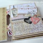 rocno-delo-unikat-album-za-fotografije-ljubezen-poroka-vintage-vrtnice-cipka-ptice-ura-prva-stran