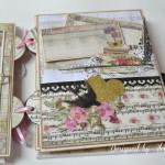 rocno-delo-unikat-album-za-fotografije-ljubezen-poroka-vintage-vrtnice-cipka-ptice-ura-tretja-stran