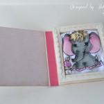 rocno-delo-unikat-voscilnica-knjiga-poslikana-majcka-rojstvo-sloncica-knjiga-odprta