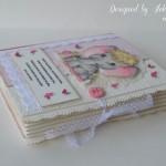 rocno-delo-unikat-voscilnica-knjiga-poslikana-majcka-rojstvo-sloncica-knjiga-zavezovanje