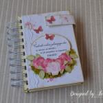 rocno-delo-unikat-rokovnik-planer-majhen-a6-tedenski-pomembni-datumi-zapiski-vrtnice-cvetovi-dne-metulji