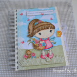 rocno-delo-unikat-darilo-spominska-knjiga-puncka-rozice-prijatelji-cvetlice-v-vrtu-zivljenja