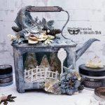 Aleksandra-Mihelic-Finnabair-Mixed-up-creative-november2019-altered-teapot-1
