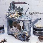 Aleksandra-Mihelic-Finnabair-Mixed-up-creative-november2019-altered-teapot-3