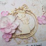 rocno-delo-unikat-darilo-voščilnica-knjiga-birma-roza-bež-deklica-cvetlice-4