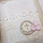 rocno-delo-unikat-darilo-voščilnica-knjiga-birma-roza-bež-deklica-cvetlice-7
