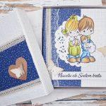 rocno-delo-unikat-darilo-voščilnica-knjiga-krst-deček-temno-modra-precious-2