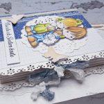 rocno-delo-unikat-darilo-voščilnica-knjiga-krst-deček-temno-modra-precious-4