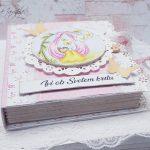 rocno-delo-unikat-darilo-voščilnica-knjiga-krst-roza-medvedek-gugalnica-1