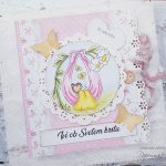 rocno-delo-unikat-darilo-voščilnica-knjiga-krst-roza-medvedek-gugalnica-2