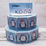 rocno-delo-unikat-praznovanje-torta-otroška-rojstni-dan-pingvinček-1