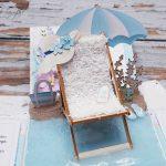 rocno-delo-unikat-voščilnica-škatlica-presenečenja-abraham-rojstni-dan-morje-plaža-ležalnik-sivka-4