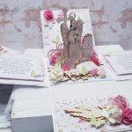 rocno-delo-unikat-voščilnica-škatlica-presenečenja-birma-sveto-pismo-angel-in-deklica-3