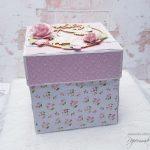 rocno-delo-unikat-voščilnica-škatlica-presenečenja-birma-sveto-pismo-golob-angel-roza-1