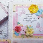 rocno-delo-unikat-voščilnica-škatlica-presenečenja-obhajilo-deklica-pisana-angel-oltar-cvetje-kelih-križ-5