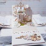 rocno-delo-unikat-voščilnica-škatlica-presenečenja-poroka-bež-vodnjak-mladoporočenca-3