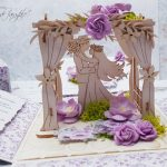 rocno-delo-unikat-voščilnica-škatlica-presenečenja-poroka-lila-par-paviljon-4